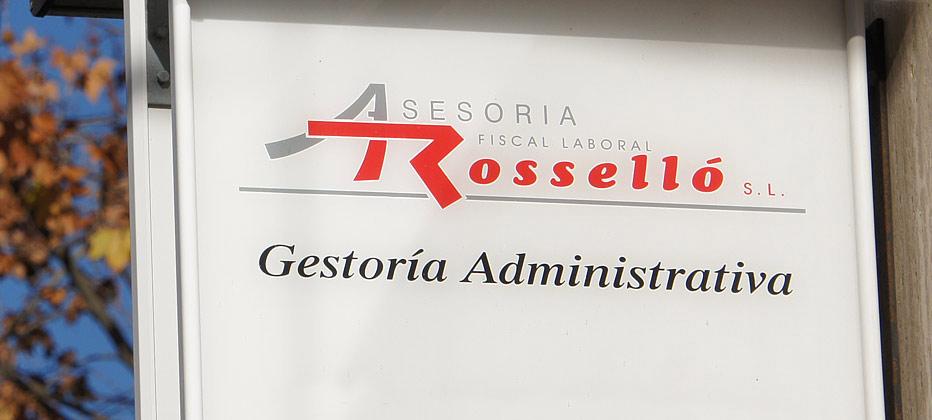 logotipo de ASESORIA FISCAL LABORAL ROSSELLO SL